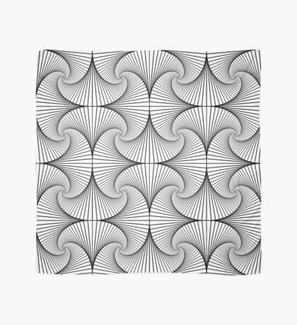 Monochrome Pattern  Scarf