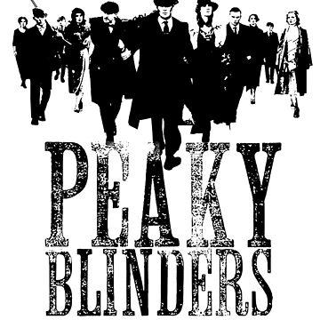 Peaky Blinders Lineup (Black&White) by Mojito10