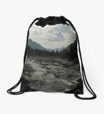 Wild river. Drawstring Bag