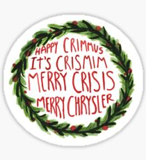 Happy Crimmus  Sticker
