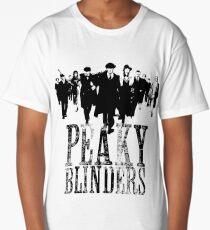 Peaky Blinders Lineup (Black&White) Long T-Shirt
