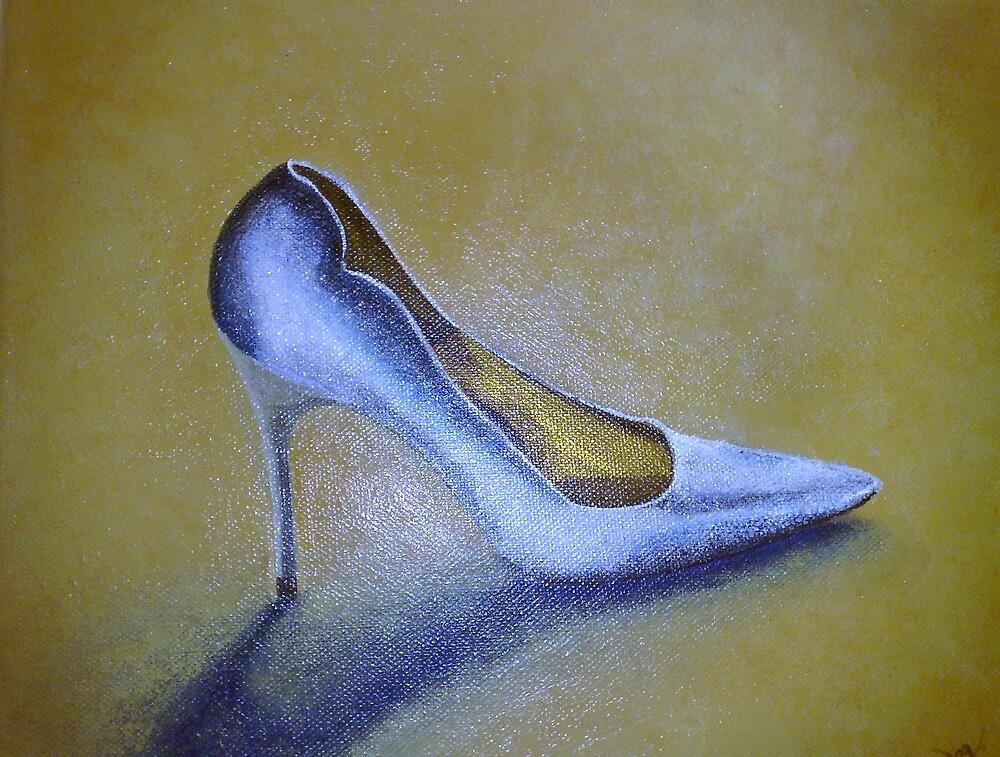 Silver Stilhetto  by Karen McGrath