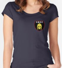DMDC Detectorists Badge Women's Fitted Scoop T-Shirt