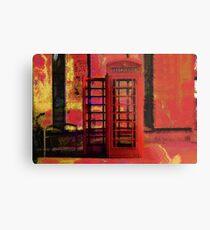 UK Red Phone Box - London England Metal Print