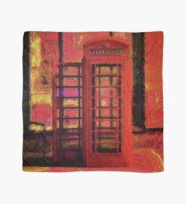 UK Red Phone Box - London England Scarf