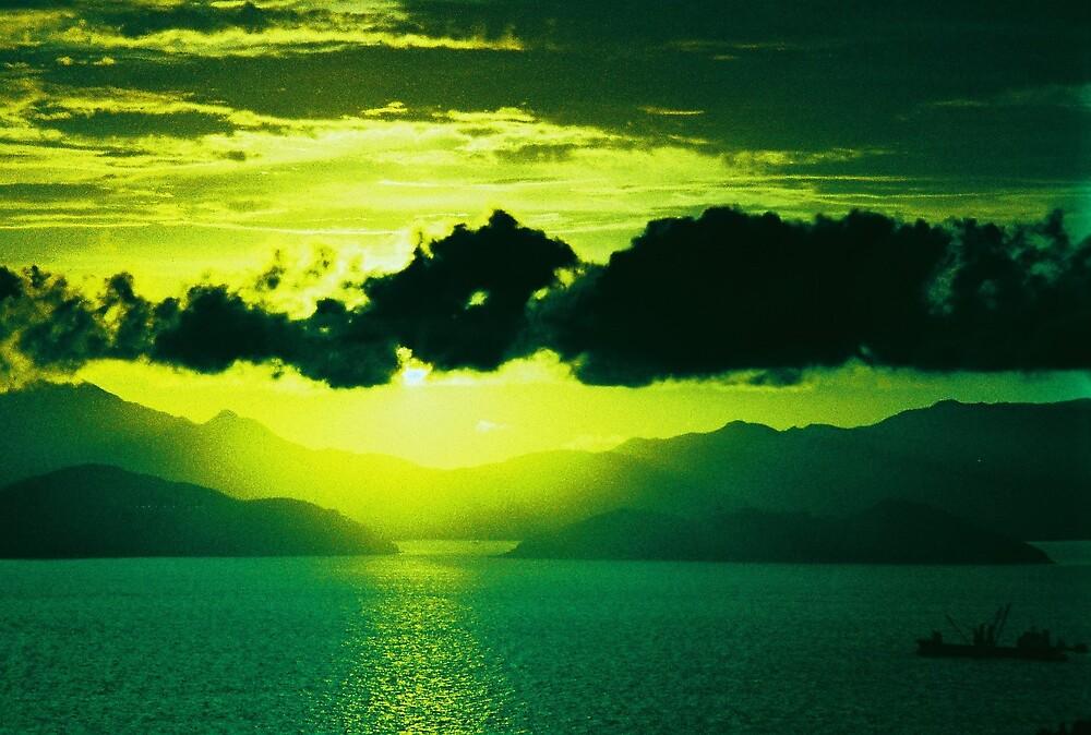 Green Sunset by Princi