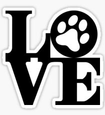 Love Pets Sticker