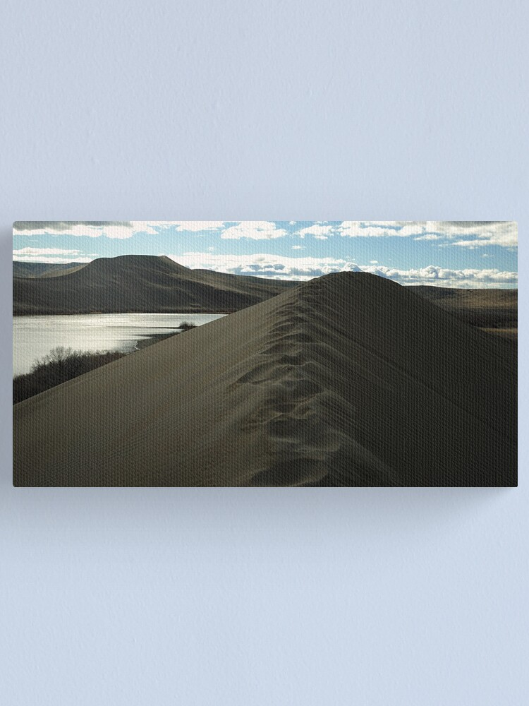 Alternate view of Traversing the tallest Dune Canvas Print