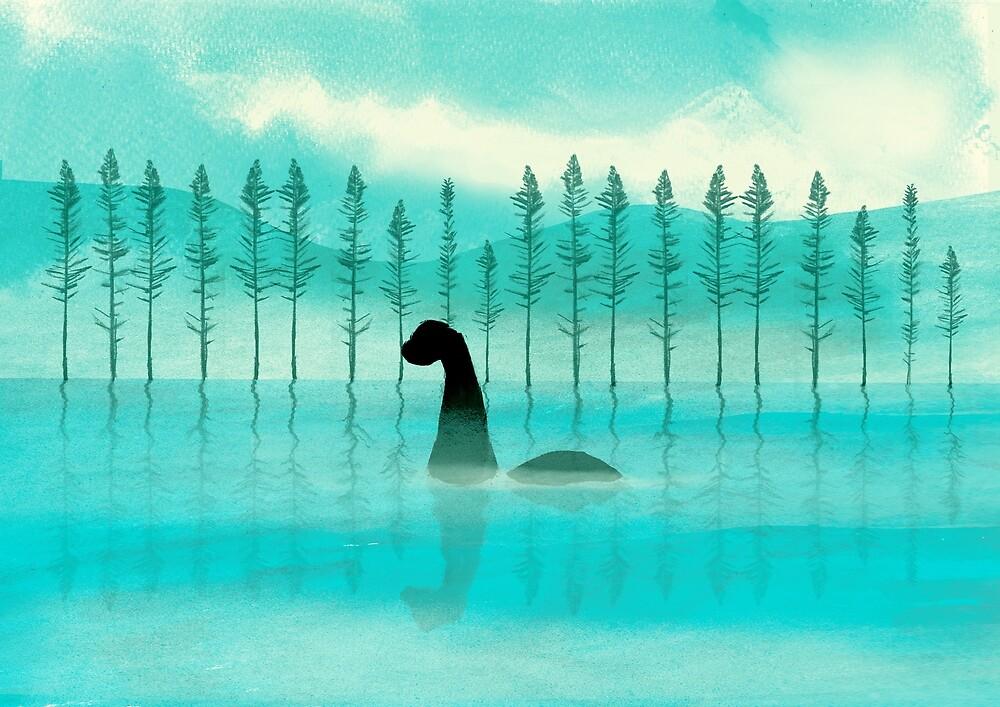 Loch Ness Monster by Ashley Crowley