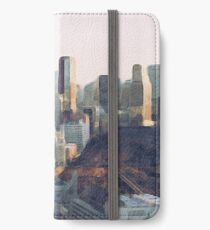 Tokyo and Tokyo Tower Oil Painting iPhone Wallet/Case/Skin