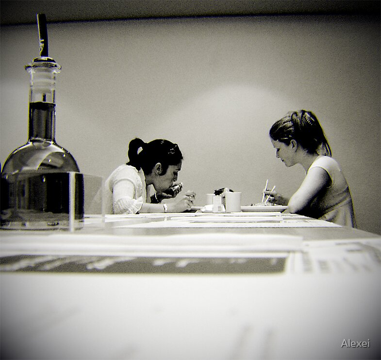 Ladies that lunch by Alexei