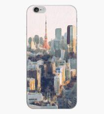 Tokyo und Tokyo Tower Ölgemälde iPhone-Hülle & Cover