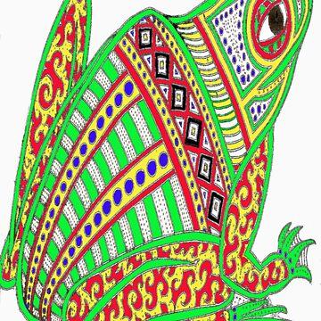Dream time Frog by erroha