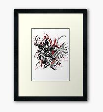 Space Ork Framed Print