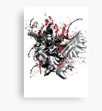 Space Ork Canvas Print