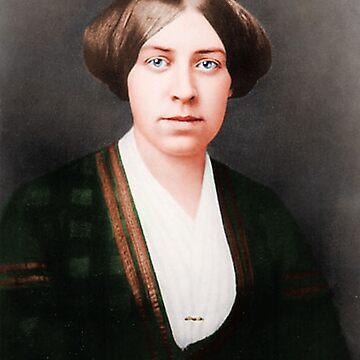 Anna May Alcott Age 27 by PatSeg