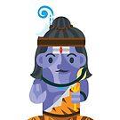 Shiva Boxdoll by artkarthik