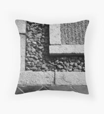 Stone Textures Throw Pillow