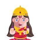 Lakshmi-Goddess of wealth Boxdoll by artkarthik