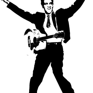 Elvis presley silhouette by chris2766