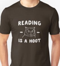 Reading Is A Hoot Unisex T-Shirt