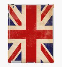 Britain Flag British Vintage Retro iPad Case/Skin