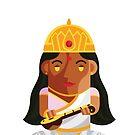 Saraswati-Goddess of Wisdom Boxdoll by artkarthik