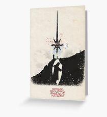 Star Wars The Last Jedi Greeting Card