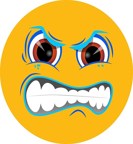 angry face smiley emoticon emoji mad design 006 posters by