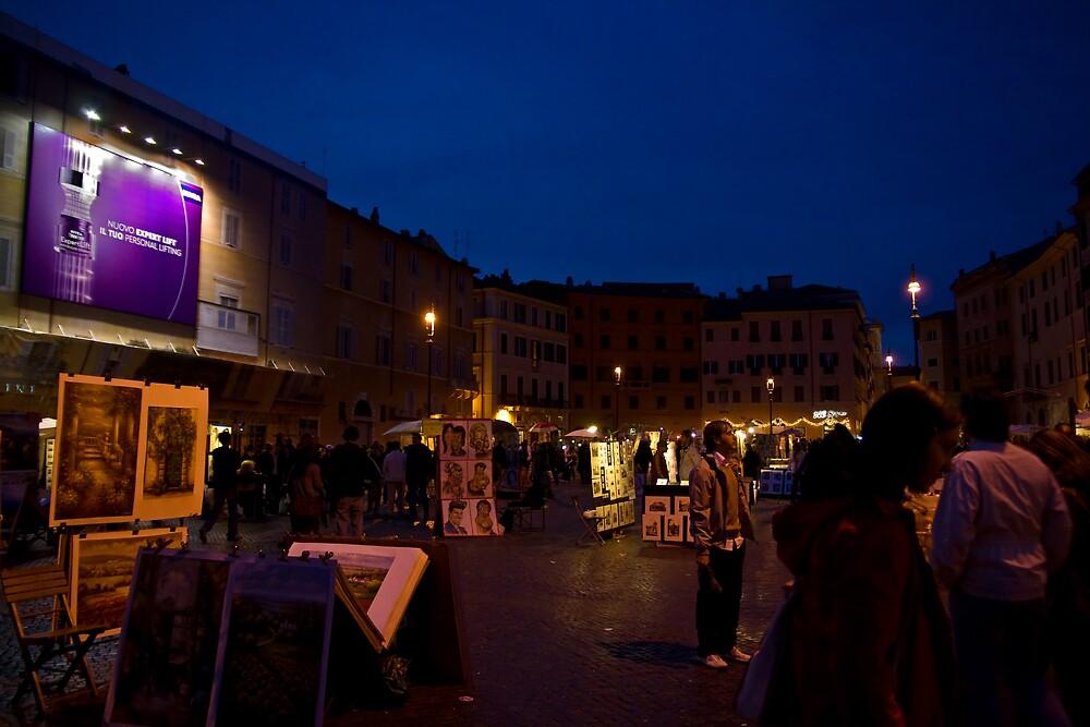 Piazza Pazza by Cammy-Lynne Ambrosini
