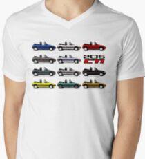 Peugeot CTi cabriolet Men's V-Neck T-Shirt