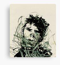oil pastel (2014) Canvas Print