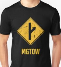 Distressed MGTOW Sign Slim Fit T-Shirt