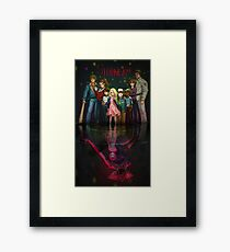 Thing's look different from upsidedown Framed Print