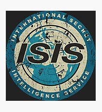 International Secret Intelligence Service Photographic Print