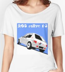 Peugeot 205 Rallye 1.3 Women's Relaxed Fit T-Shirt