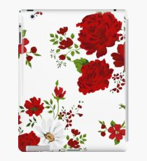 Red roses. Seamless floral background.  iPad Case/Skin