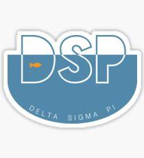 Delta Sigma Pi Fishbowl Sticker