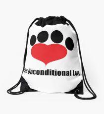 Unconditional Love Drawstring Bag
