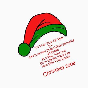 Humourous Christmas by ledwellarts