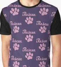 iRescue - animal cruelty, vegan, activist, abuse Graphic T-Shirt