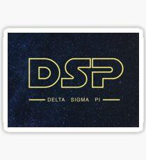 Delta Sigma Pi SWars Sticker