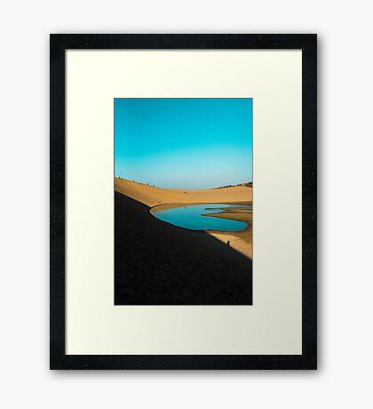 Oasis Dreams Framed Print