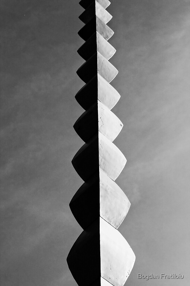 Column of Infinity by Bogdan Fratiloiu