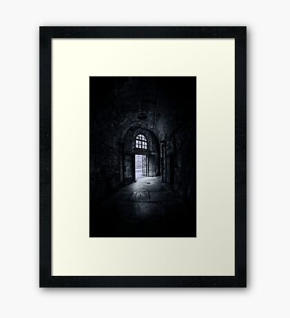 Visions From The Dark Side Framed Print