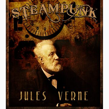 Steampunk Jules Verne by inception8