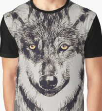 SAVE WOLVES Graphic T-Shirt