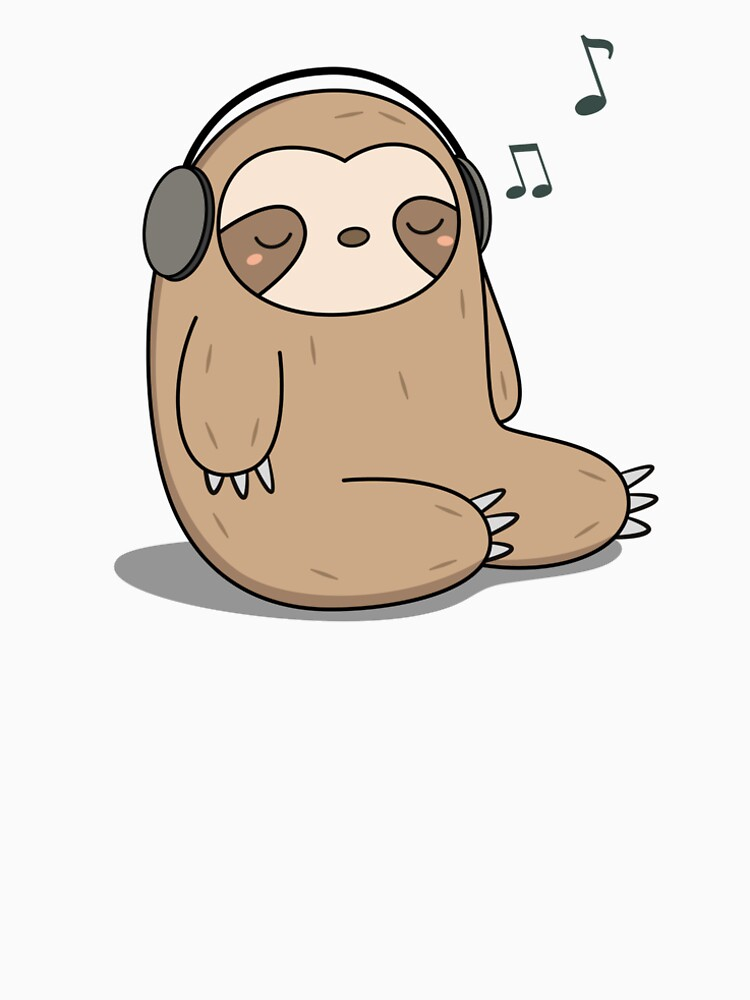 It's just a graphic of Crush Sloth Drawing Cute
