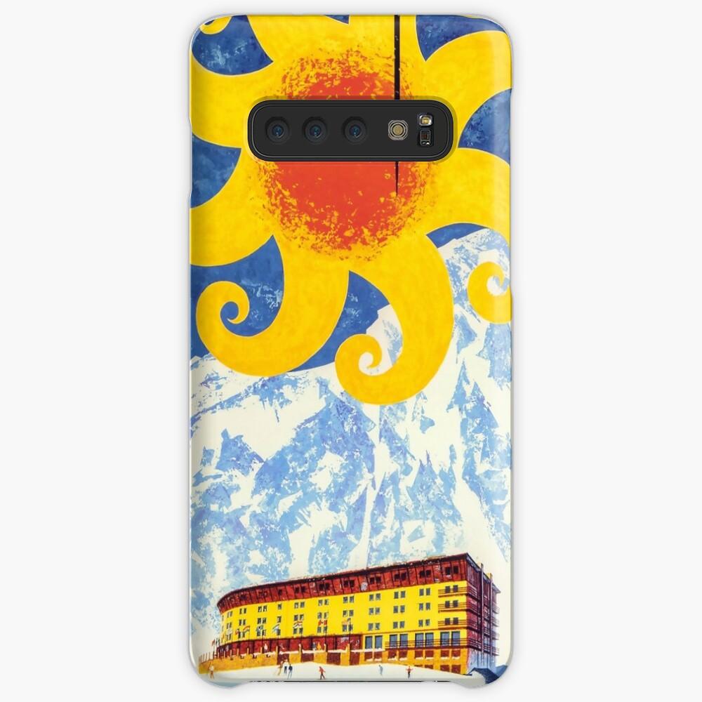 Portillo, Chile, Ski Poster Hüllen & Klebefolien für Samsung Galaxy