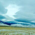 Looking North Across the Camas Prairie, Sanders County, Montana, USA by Bryan D. Spellman